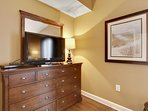 Shores of Panama 1421-Master Bedroom with flat screen tv