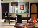 Kitchen provides you with amenities from home, if you choose to use them.