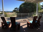 Undercover BBQ/Patio Decking Area with Ocean Views