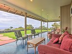 The home's higher elevation offers cool breezes at night.