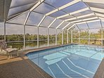 Enjoy a pest-free swim in your covered pool!