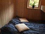 SLEEPING ROOM 1: 1 double bed and 1 upper single bed (room sleeps 3)