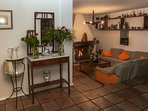 Salon fondo y pasillo Villa Roque del Oeste