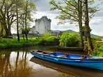 Ross Castle by the lakes of Killarney