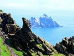 Scellig Michael world Heritage Star Wars ' The force Awakens' were filmed at the Island