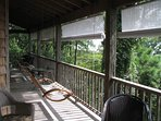 The Porch, directly outside of your room