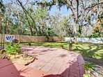 Large backyard for family fun!