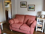 All new furnishings in the sitting room.