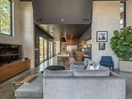 Spectacular flowing floor plan with an impeccable, contemporary interior design.
