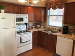 Complete kitchen for your convenience.