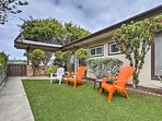 Soak up the sun on the 3 lounge chairs in the front lawn.