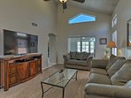 This traditionally decorated house sleeps 8 with room for 2 more guests.