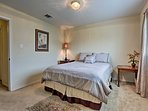 You'll find a queen bed in this room!