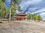 This Ruidoso home boasts convenience, beauty, and excitement within!