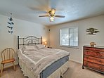 You'll find another queen bed in the 2nd bedroom.