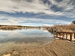Enjoy boating on Pagosa Lake located 10 minutes from this home!