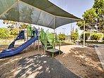 Kids will love the community playground!