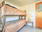 Cots are also available for additional sleeping accommodations.