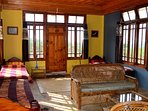 Our dormitory with 3 beds in Pine Air Shillong.