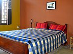 We have 2 double rooms at Pine Air villa.