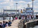Anleger Fördeschifffahrt - Pendelverkehr und Ausflugsfahrten