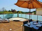 Terrace w/ Dining Area