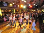 Disco in club house