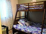 Bedroom 2 - twin over full bunk bed