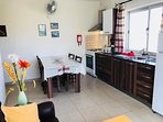 Bright and airy corner apartment