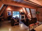 Alpine Hideaway-Living Room / Dining Room
