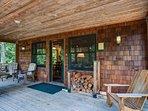 Marshall Cabin-Marshall Cabin Front Porch