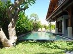 11m private pool