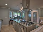 Whip up home-cooked feasts in the fully equipped kitchen.
