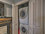 Keep clothes fresh with these convenient laundry machines.