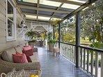 Hunter Valley Accommodation - Millfield Homestead - Millfield - Outdoor Entertaining Area