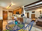 The layout is perfect for families visiting Santa Fe.