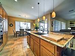 The chef of the group will love the fully equipped kitchen.
