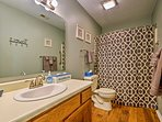With 2 bathrooms, you can easily get ready each morning!