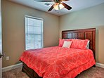 Enjoy a comfortable queen mattress in the second bedroom.