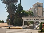 Entrance to the Andalucia del Mar development with a sea view!