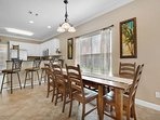 4BR House - Dining Area