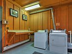 You'll have convenient access to the on-site laundry room.