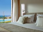 The layout of the villa offer guests easy access to pool and garden area