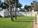 Large Backyard w/ Privacy Fencing
