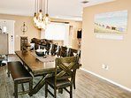 Dinning Room for Large Gatherings