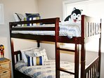 Guest Bed Sleeps 5 & Perfect for the Kiddos
