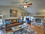 This 3-bed, 2-bath vacation rental house is the ideal Estes Park retreat.