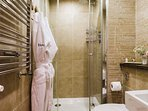 Ensuite bathroom with drench shower