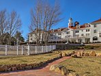 Take a tour of the historic Stanley Hotel near downtown!