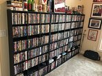 400 + DVDs (movies)